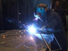 Welding at Athag