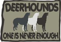Deerhound T Shirt
